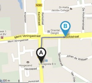 Mondhygienepraktijk Hoogezand Route met de bus